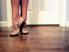 Ballet makes me happy