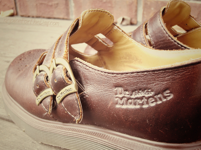 brown Mary Jane Doc Martens