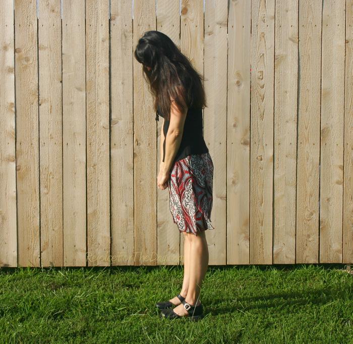 thrifted skirt 2
