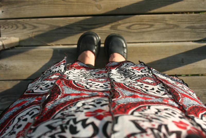 thrifted skirt 3