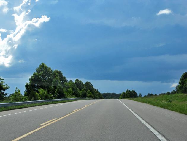 A short drive
