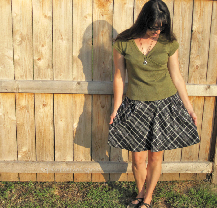 Fossil semi-full skirt