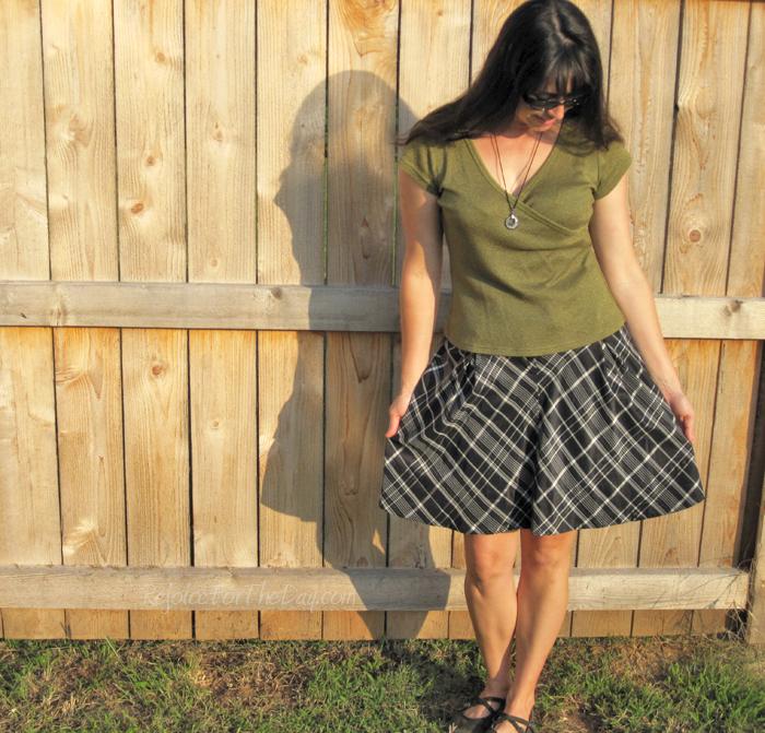 Fossil semi-full skirt