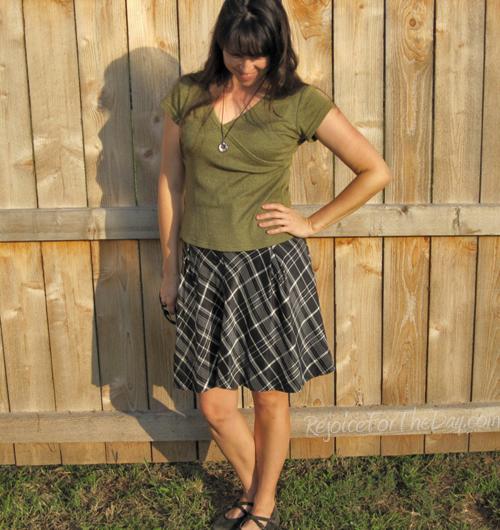 TheThursdayThrift Fossil Skirt