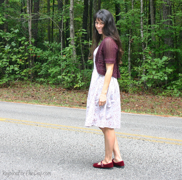 Oct dress and shoes