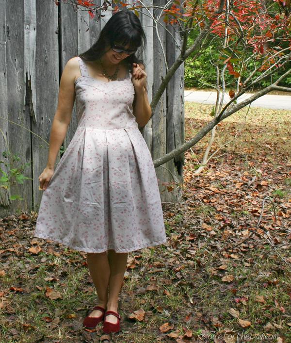 October's dress