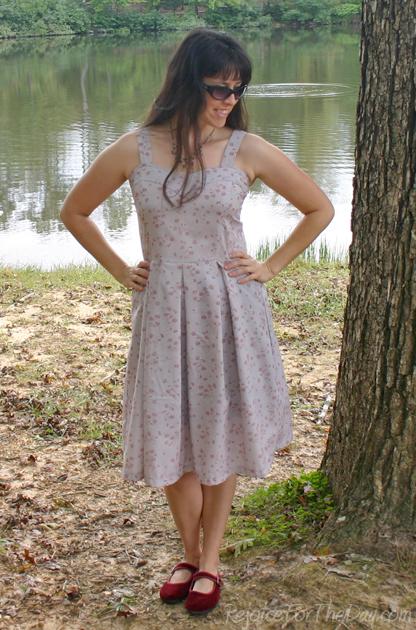homemade dress