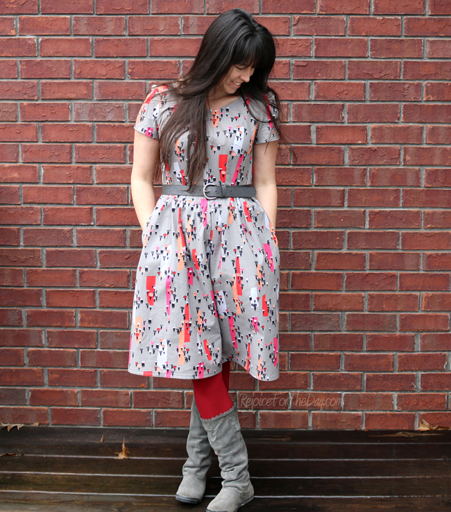 The Winter in Tennessee dress