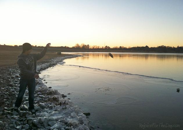 Icy Beech Lake