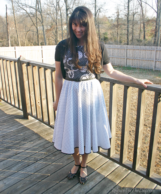 Shoe Save 20 - Old Navy    Dress - made by me