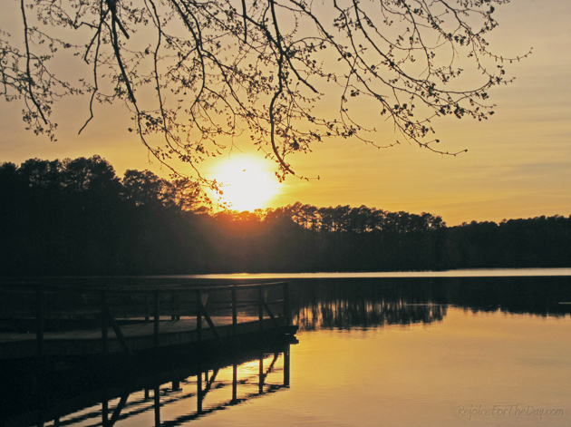Sunset at Brown's Lake