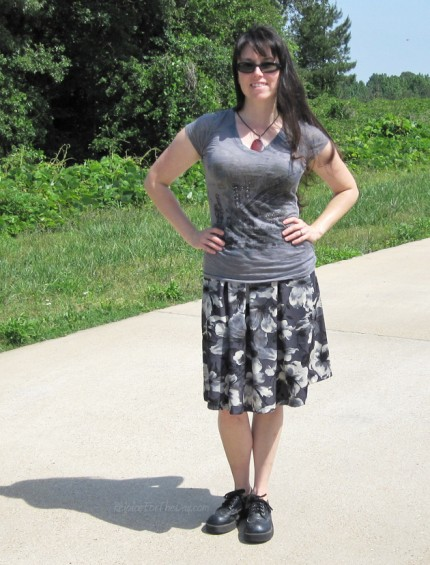 New Look 6143 as a skirt