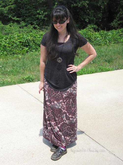 Simplicity 6730 skirt