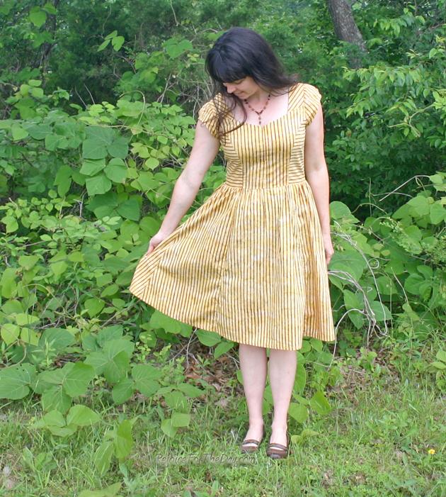 retro syle dress