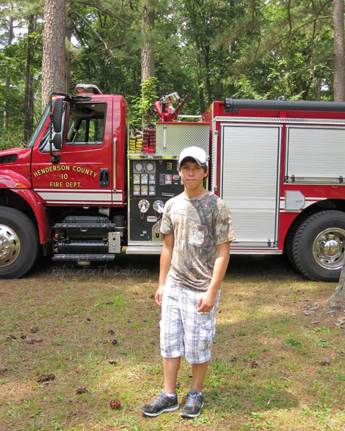 EJ fire truck