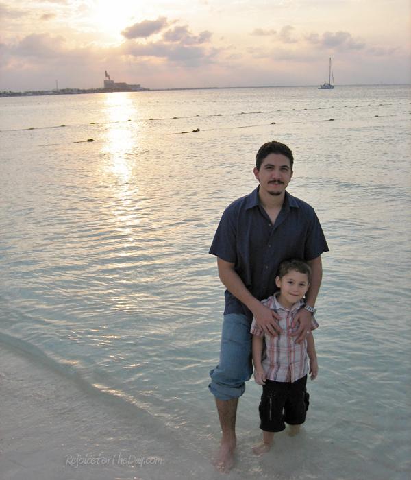 Cancun beach vacation