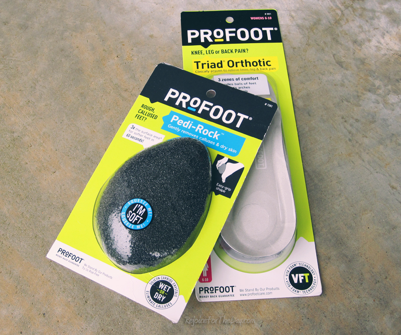 Profoot items