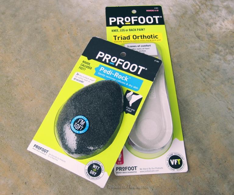 Profoot items