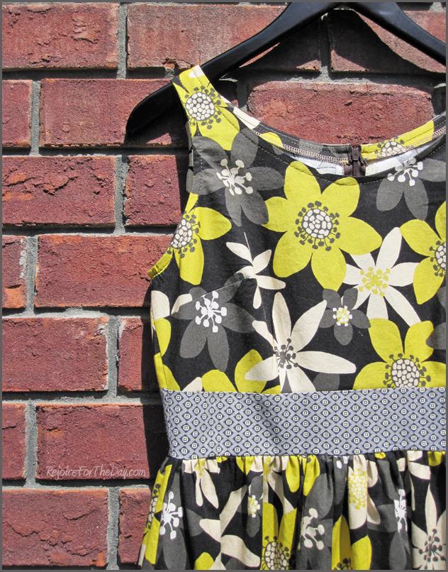 Floral vintage style dress