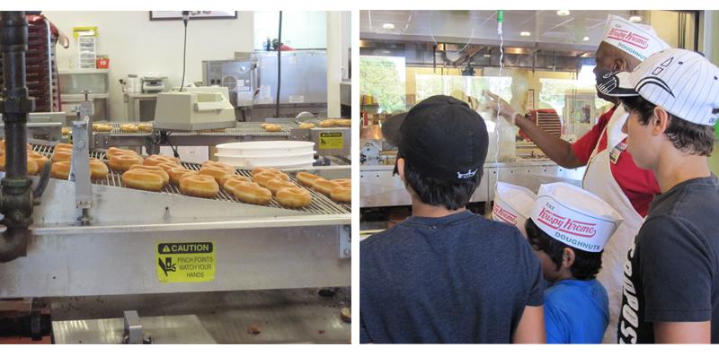 At Krispy Kreme