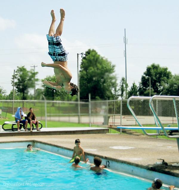 diving board jumpEDIT