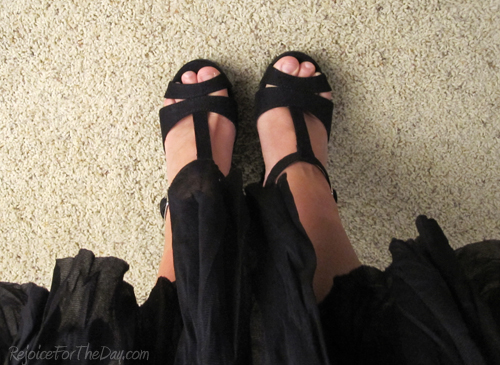 Shoe Save 36 - the pretty ones.  Charlotte Russe wedges