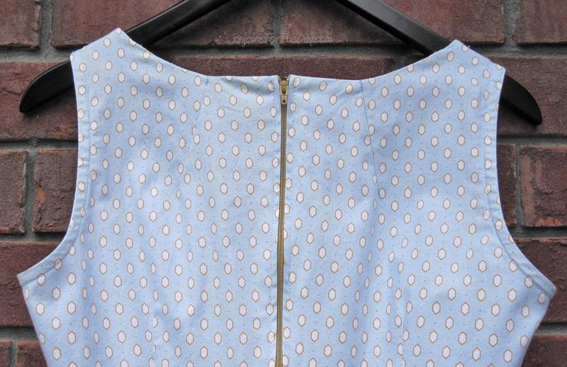 darts to fix a gaping neckline