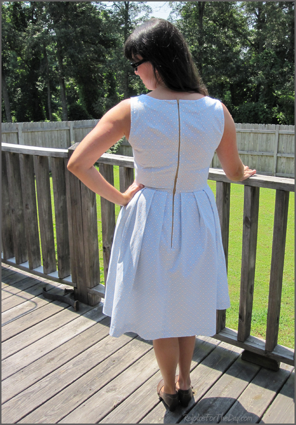 Simplicity 2444 completed (back view)