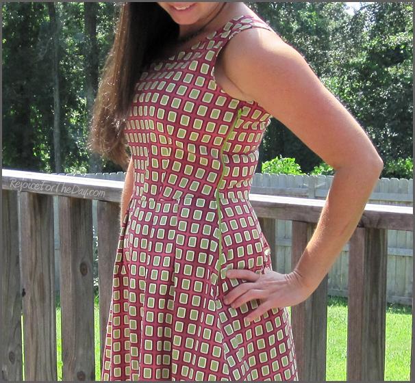 Full skirted dress