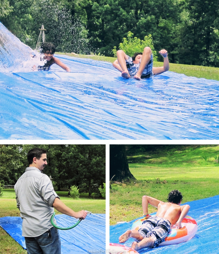mega slip and slide