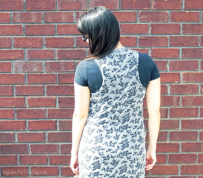 maxi dress back view