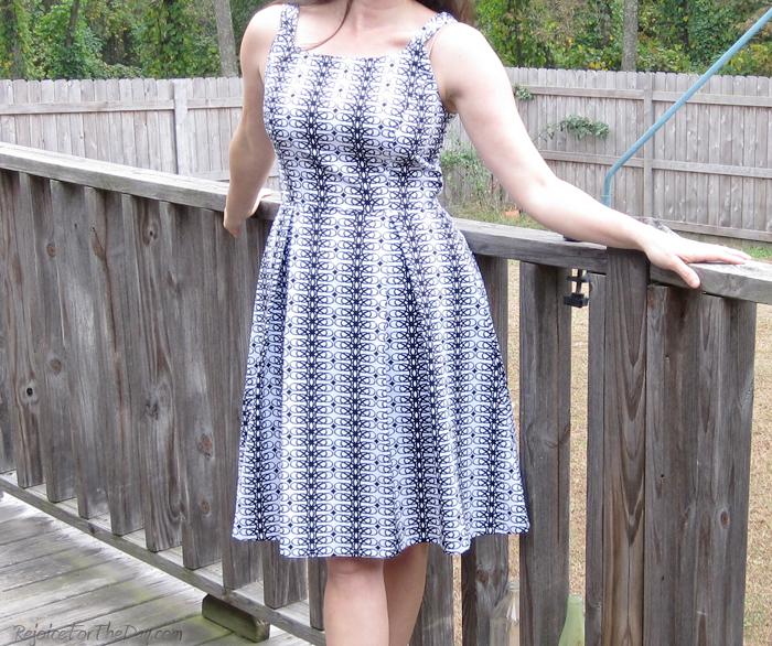 Simplicity 1418 dress