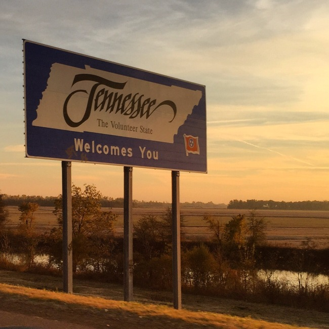 TN state line photo