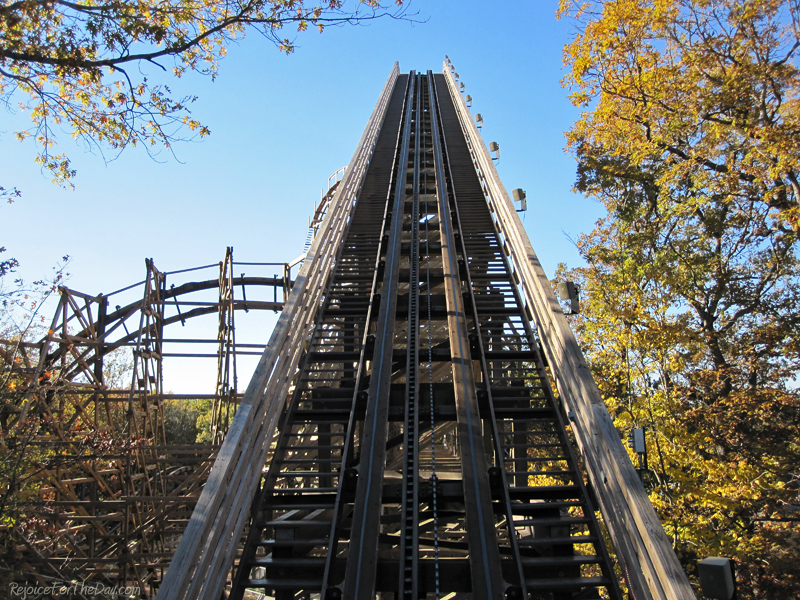 Silver Dollar City coaster