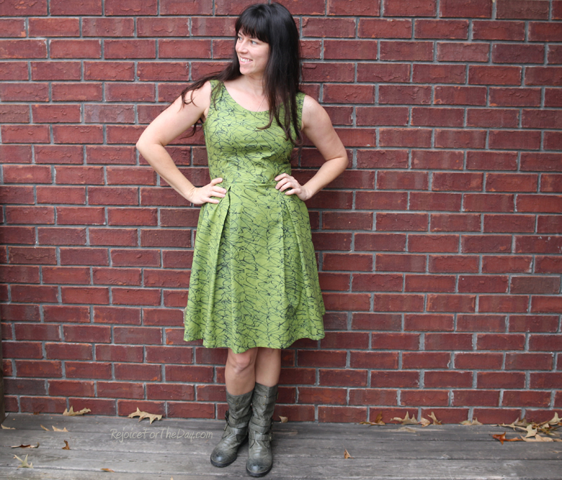 The Tangled Green Dress 2