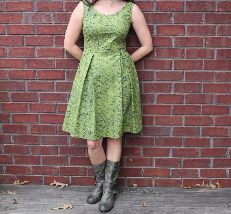 The Tangled Green Dress