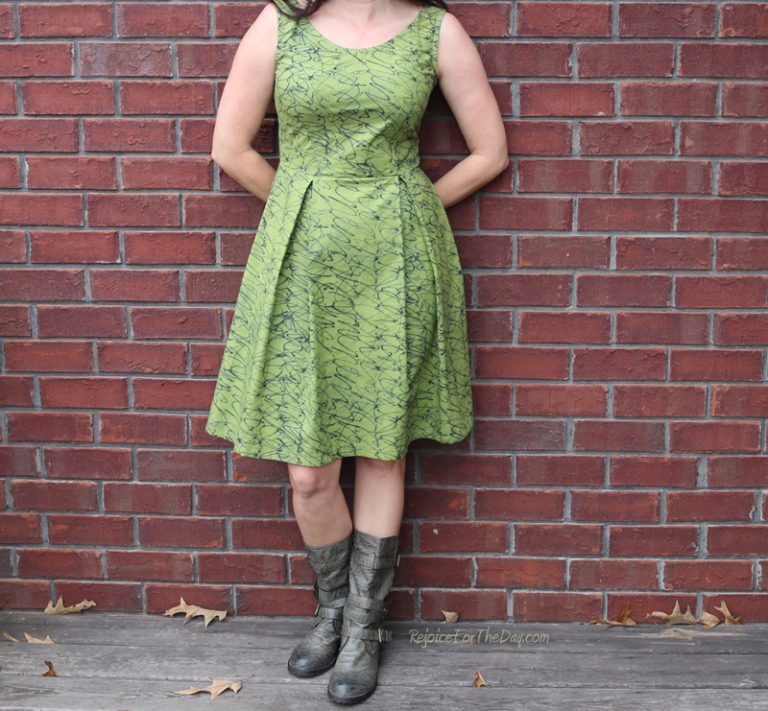 The Tangled Green Dress