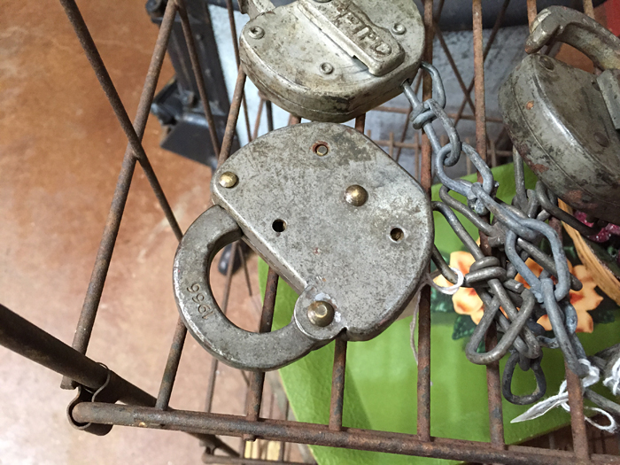vintage market locks
