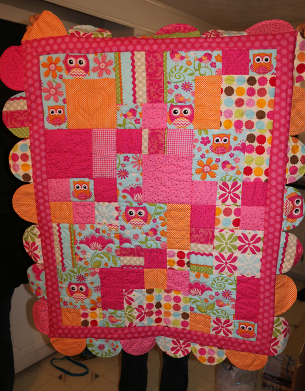 group baby quilt