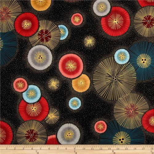 Imperial Circle Burst fabric