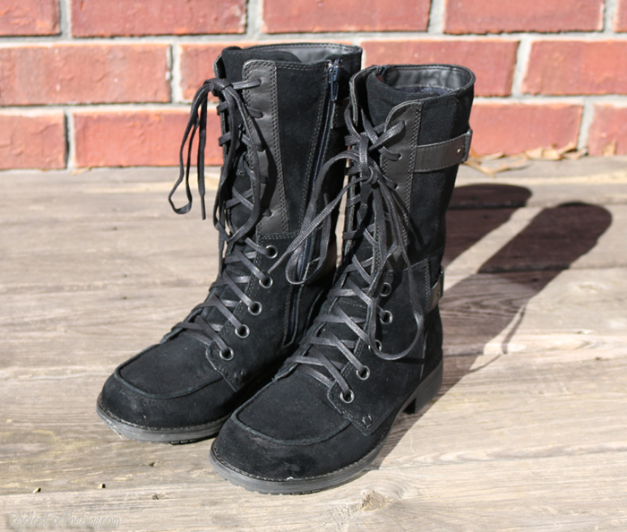 lace up warm boots