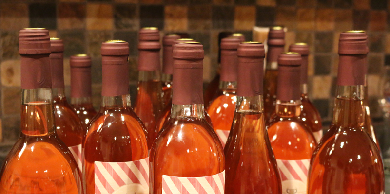 wine bottle tops