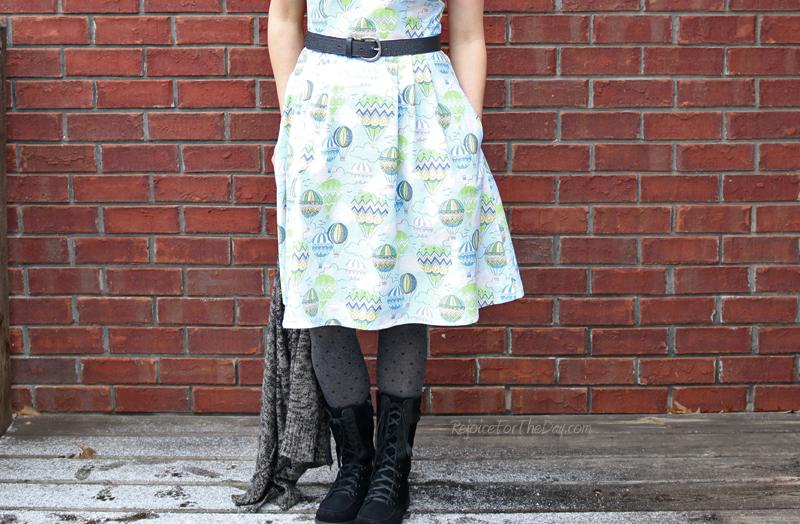 retro style dress