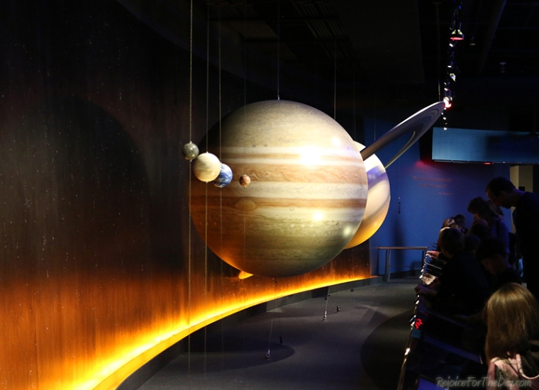 Science Museum planets