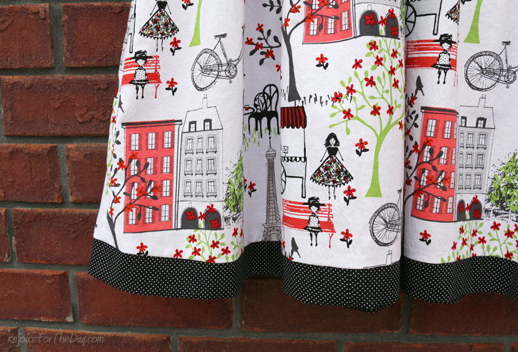 Waverly fabric Paris theme