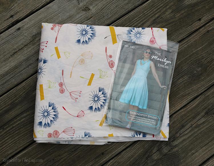 Sew Serendipity Marilyn dress