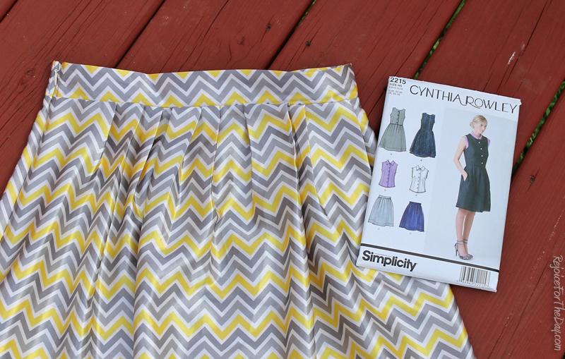 simplicity 2215 skirt
