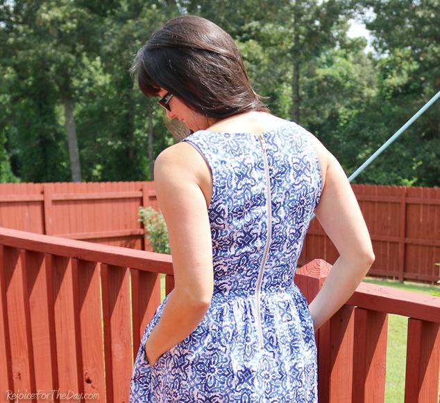 Nashville dress back