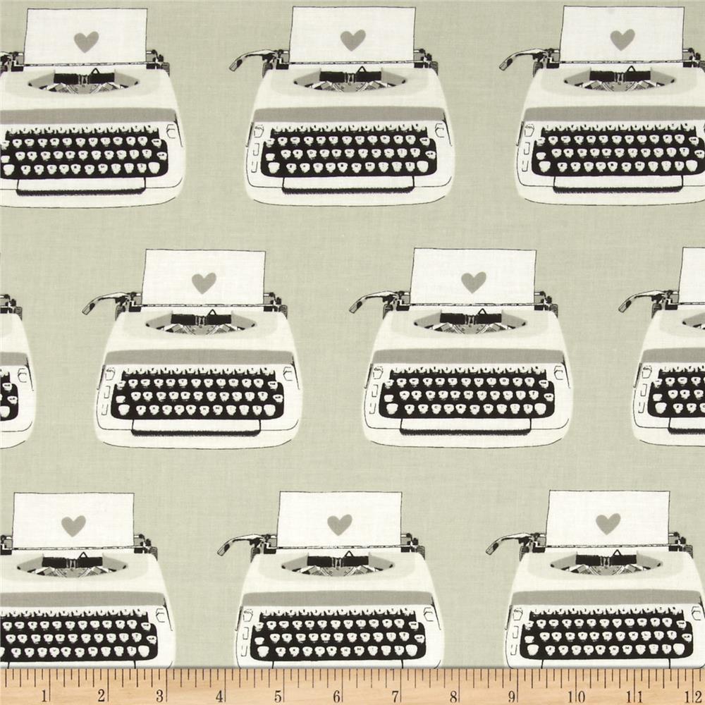 typewriter material