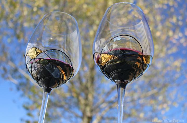 Valentina Paris wine glasses